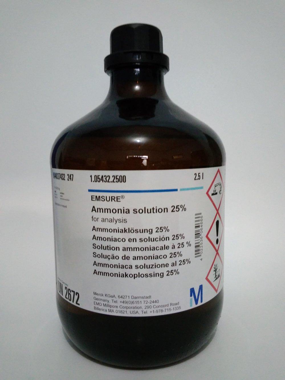 Sifat, Reaksi dan Pembuatan Amonia